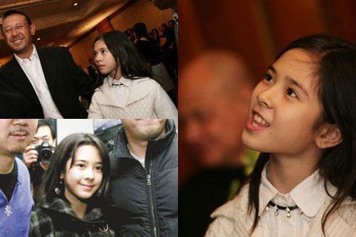 陈道明的女儿陈格,算是出身名