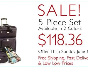 Claiborne 5 Piece Set - $118.36‏