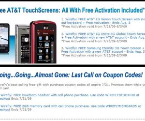 免费手机和免激活费的AT&T 手机Plan