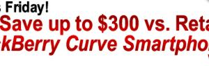 48 Hour BlackBerry Curve Sale + Free Activation + New Coupon!‏